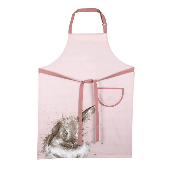 Wrendale Designs Apron Pink Rabbit