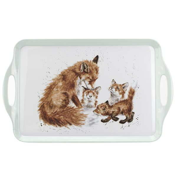 Wrendale Designs Fox Large Handle Tray
