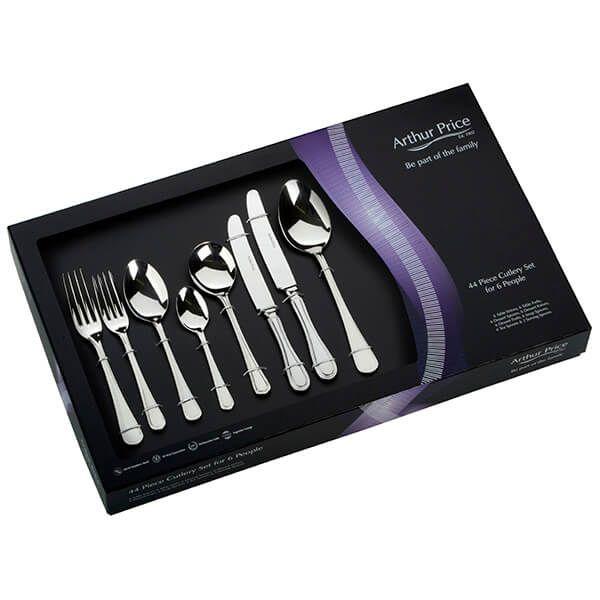 Arthur Price Classic Britannia 44 Piece Cutlery Gift Box Set