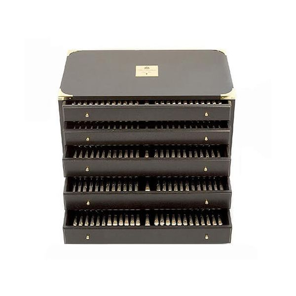 Clive Christian Empire Flame All Gold 85 Piece 8 Person Canteen