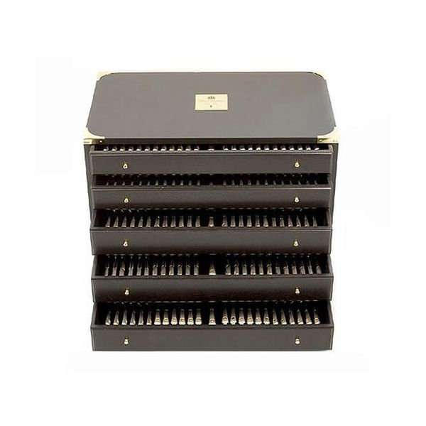 Clive Christian Empire Flame All Gold 125 Piece 12 Person Canteen