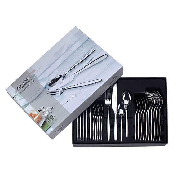 Arthur Price Rio 18/0 24 Piece Cutlery Box Set