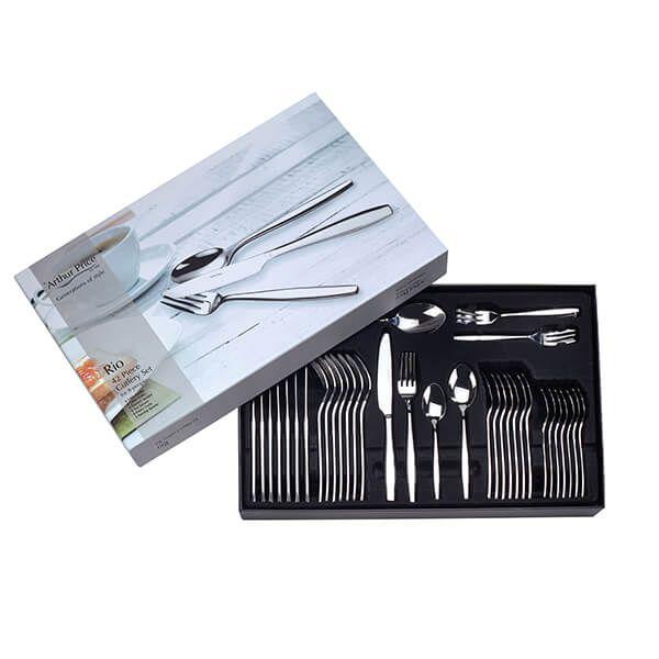 Arthur Price Rio 18/0 42 Piece Cutlery Box Set