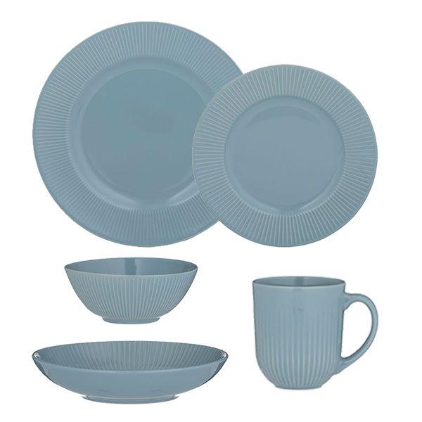 Mason Cash Linear Blue Tableware Set