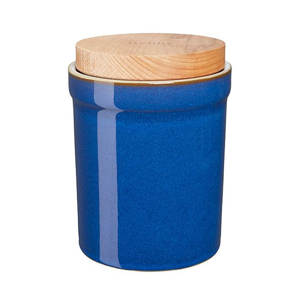 Denby Imperial Blue Storage Jar