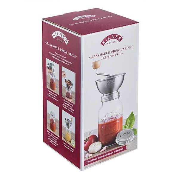 Kilner Sauce Mill Jar Set