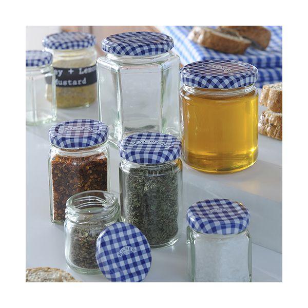 Kilner Twist Top Round Jar 228ml Box Of 12