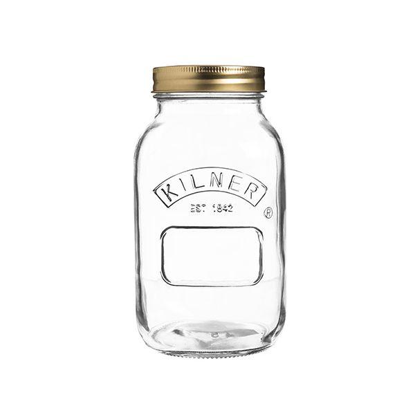 Kilner Preserve Jar 1 Litre Box Of 12
