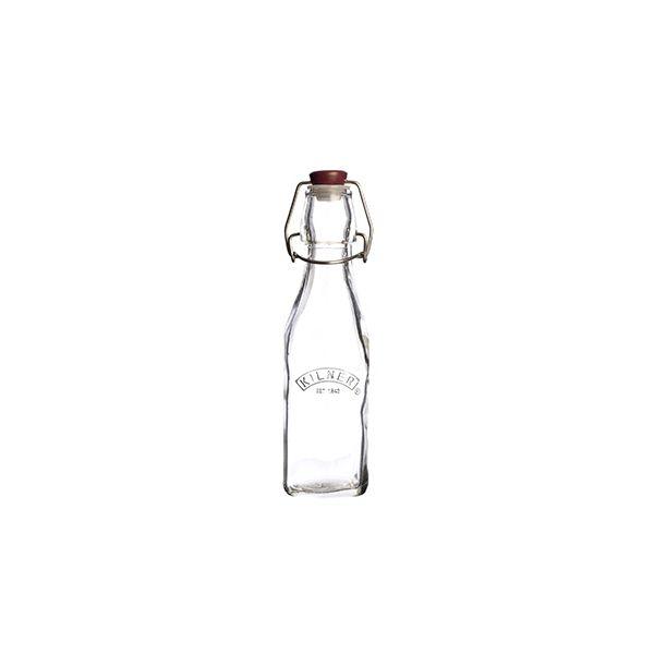 Kilner Square Clip Top Bottle 0.25L