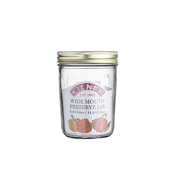 Kilner Wide Mouth Preserve Jar 0.35 Litre