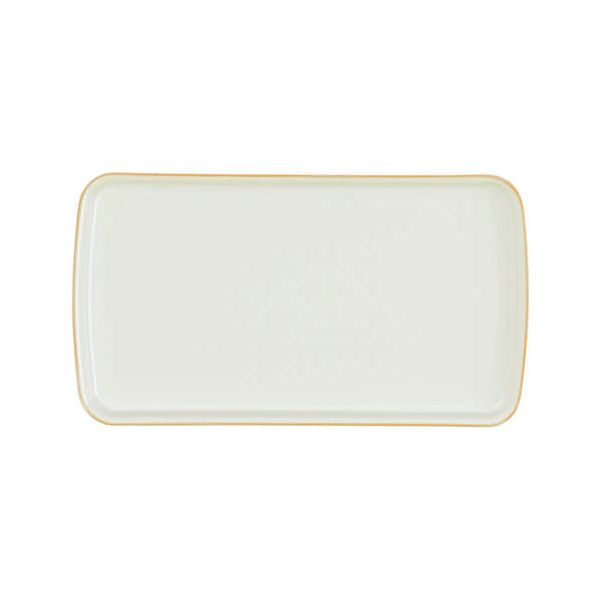 Denby Linen Small Rectangular Platter