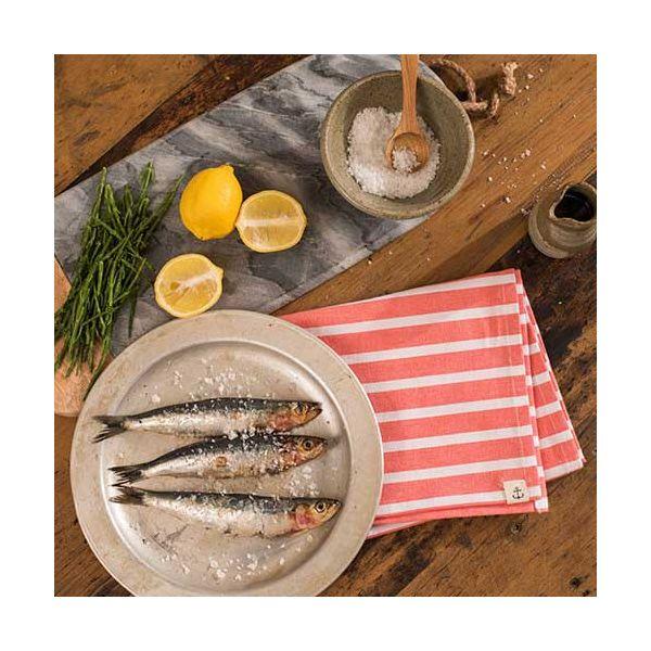 Seasalt Breton Redhaven Cotton Tea Towel