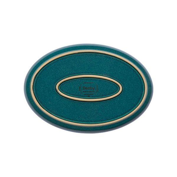 Denby Greenwich Medium Oval Tray