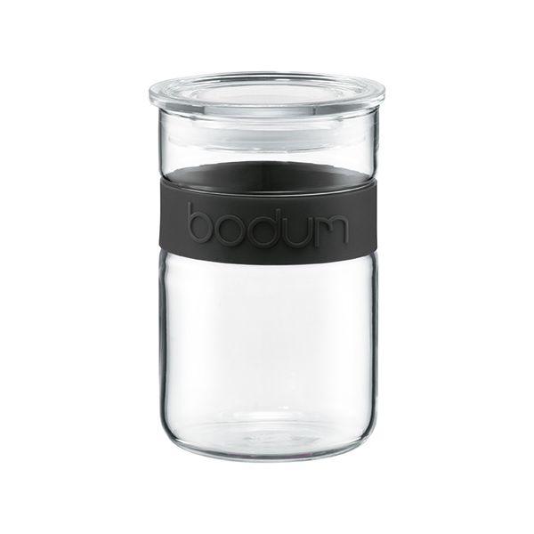 Bodum Presso 0.6L / 20oz Storage Jar Black
