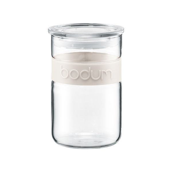 Bodum Presso 0.6L / 20oz Storage Jar Off White