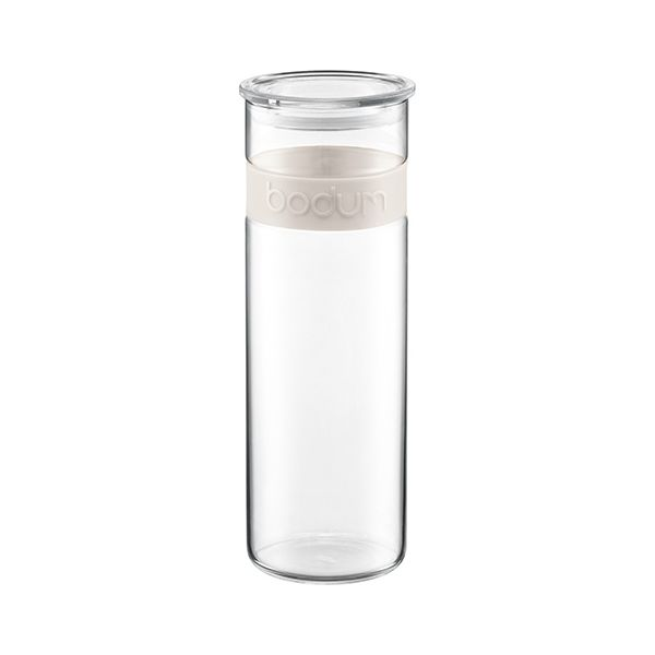 Bodum Presso 1.9L / 64oz Storage Jar Off White