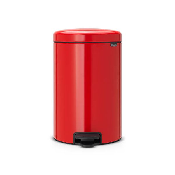 Brabantia NewIcon 20 Litre Pedal Bin Passion Red