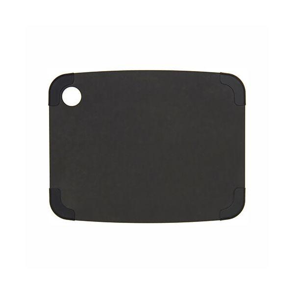 "Epicurean Signature Wood Composite Non-Slip Series 11.5"" x 9"" Slate / Slate Corners Cutting Board"
