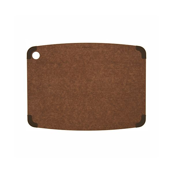 "Epicurean Signature Wood Composite Non-Slip Series 14.5"" x 11.25"" Nutmeg / Brown Corners Cutting Board"
