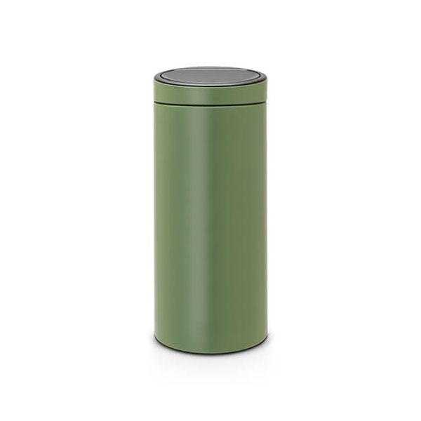 Brabantia 30 Liter Touch Bin.Brabantia Touch Bin 30 Litre Moss Green 115264