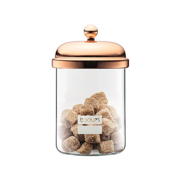 Bodum 0.5L Classic Storage Jar Copper
