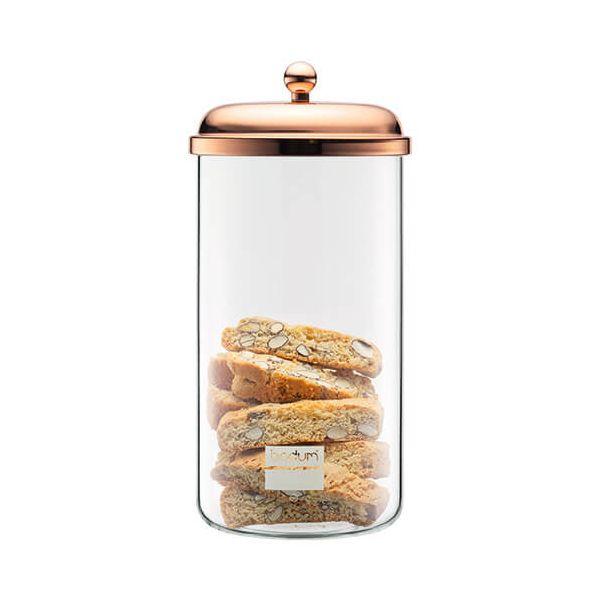 Bodum 2.0L Classic Storage Jar Copper