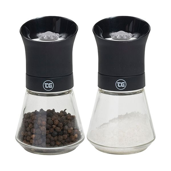 T&G CrushGrind Tip Top Pepper & Salt Mill Set