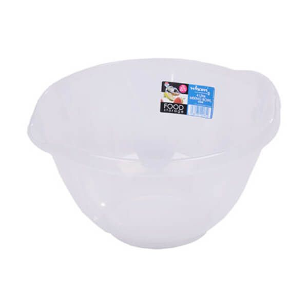 Wham Cuisine 4L Clear Mixing Bowl
