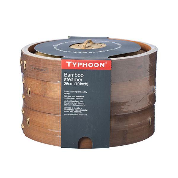 "Typhoon Double Tier 10"" Bamboo Steamer"