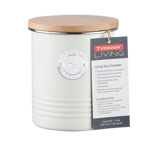 Typhoon Living 1 Litre Cream Tea Canister