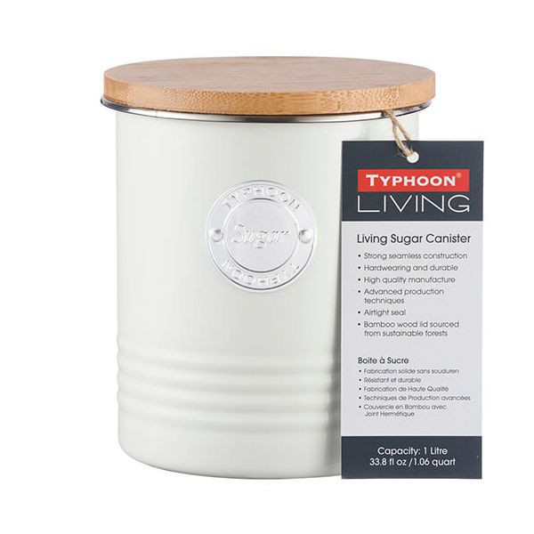 Typhoon Living 1 Litre Cream Sugar Canister