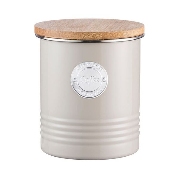 Typhoon Living 1 Litre Putty Coffee Canister
