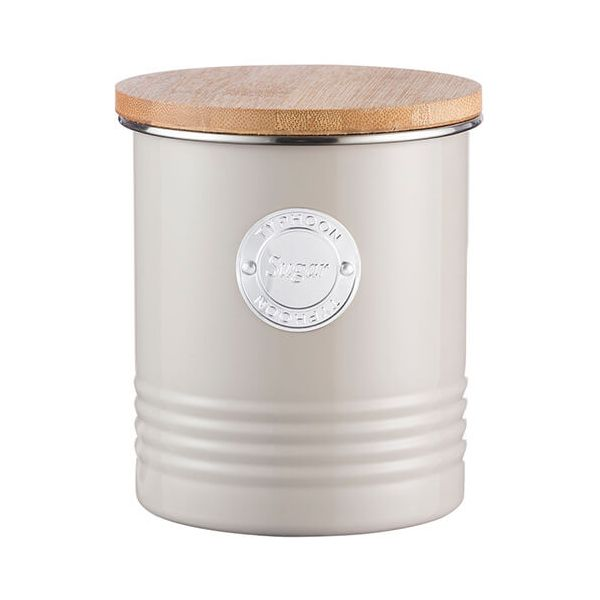 Typhoon Living 1 Litre Putty Sugar Canister