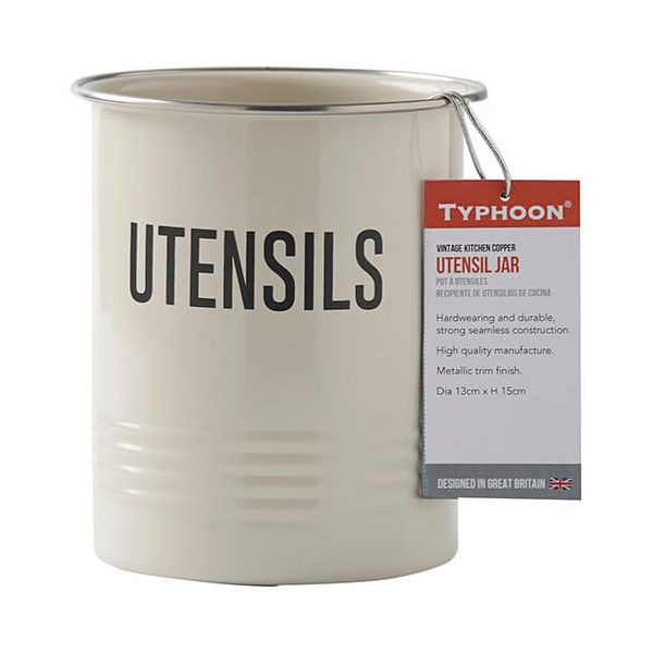 Typhoon Vintage Copper Utensil Pot