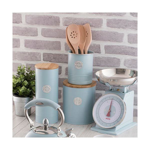 Typhoon Living Blue Utensil Pot