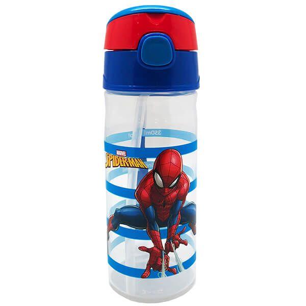 Marvel Spider-Man Classic 500ml Water Tracker Drinks Bottle
