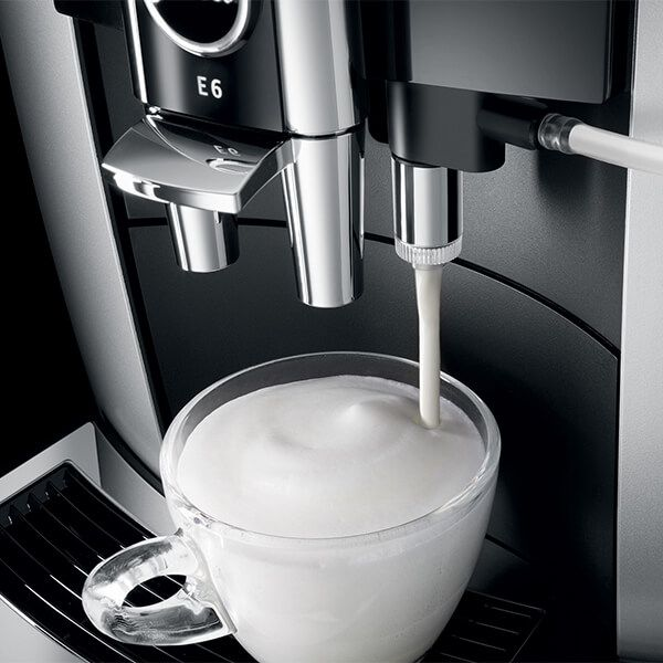 Jura E6 Platinum Automatic Coffee Machine
