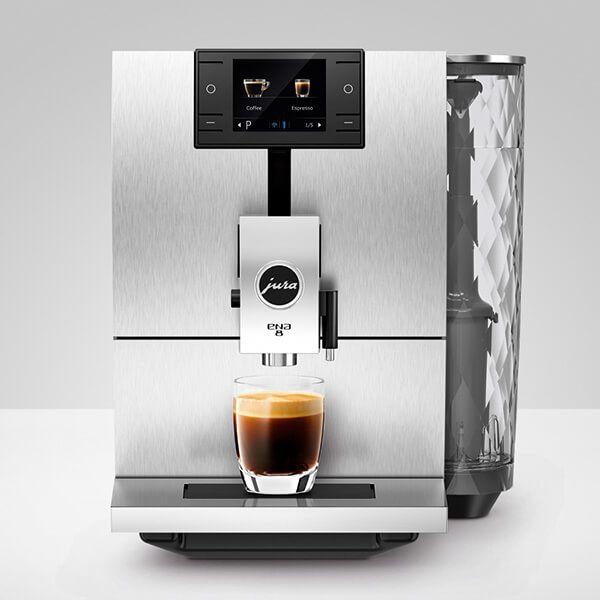 Jura ENA 8 Signature Massive Aluminium Automatic Coffee Machine
