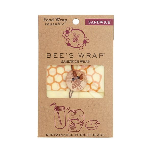 Bee's Wrap Honeycomb Print Sandwich Wrap 33 x 33cm