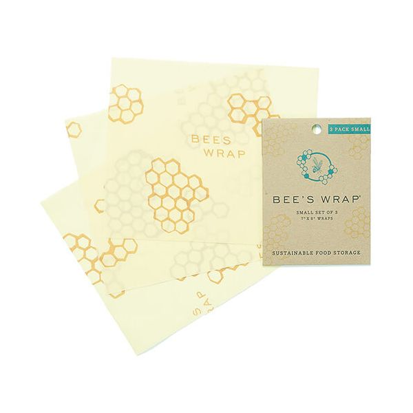 Bee's Wrap Set Of 3 Small Wraps 17.5 x 20cm