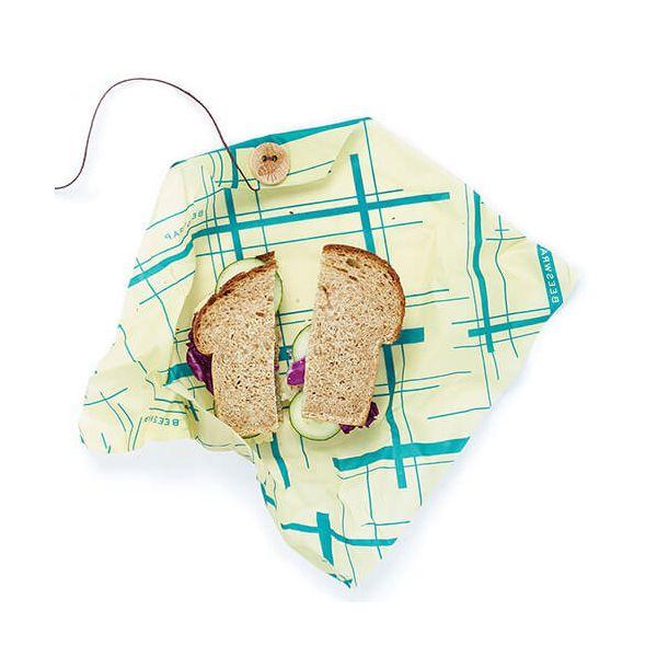 Bee's Wrap Geometric Print Sandwich Wrap 33 x 33cm