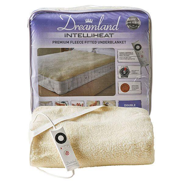 Dreamland Intelliheat Soft Fleece Easy Fitted Underblanket Double