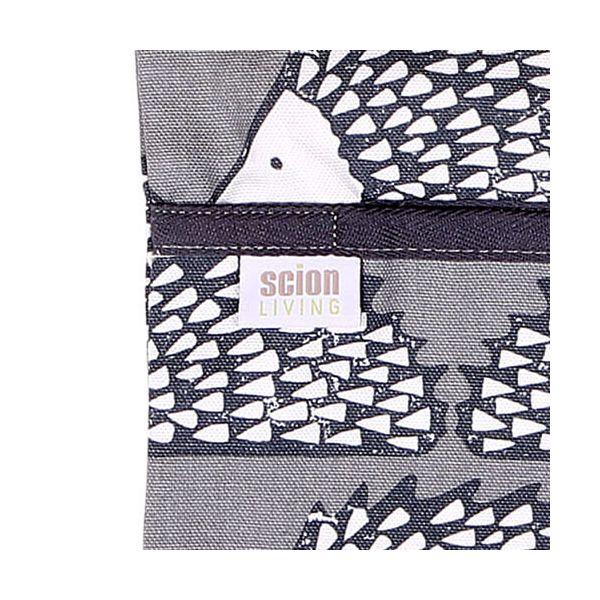 Scion Living Spike Wipe Clean Grey Peg Bag