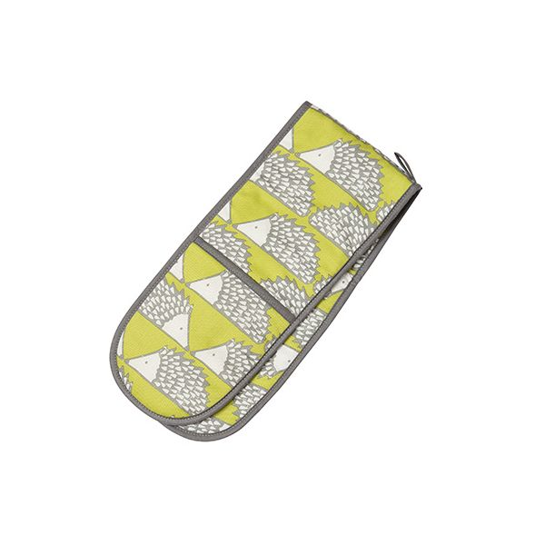 Scion Living Spike Double Oven Glove Green