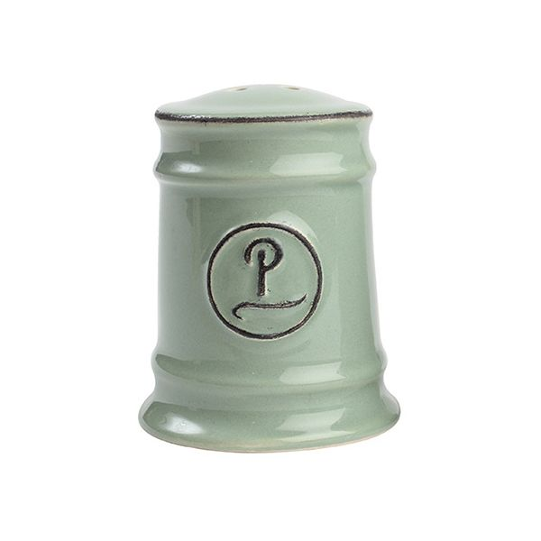 T&G Pride Of Place Pepper Shaker Old Green