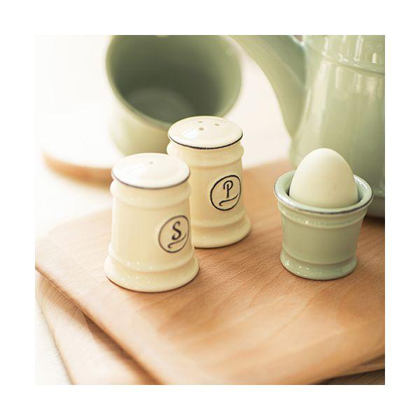 T&G Pride Of Place Salt Shaker Old Cream