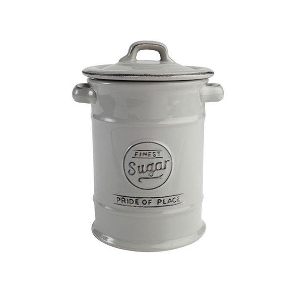 T&G Pride Of Place Set Of 3 Storage Jars In Cool Grey