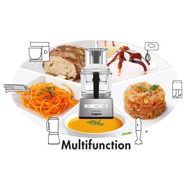 Magimix Compact 3200XL Black BlenderMix Food Processor