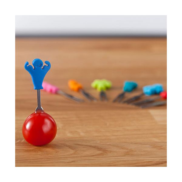 Vacu Vin Snack Markers Party People Set Of 8