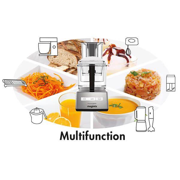 Magimix 5200XL White BlenderMix Food Processor